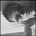 Man on vacation with sunglasses, self portrait, Selfy, Croatia - ONF000302