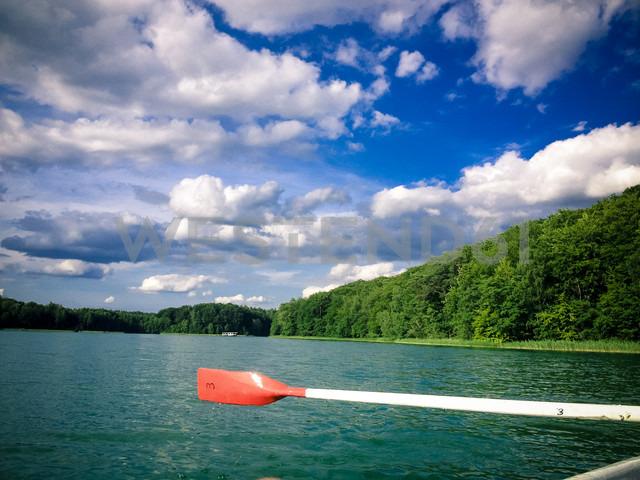 Rowboat on Liepnitzsee, Lanke, Germany - FBF000123 - Frank Blum/Westend61