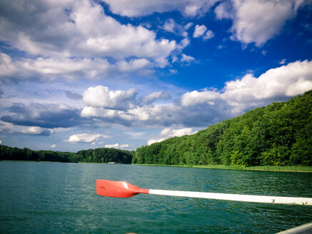 Rowboat on Liepnitzsee, Lanke, Germany - FBF000123