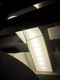 Lights in modern building, Berlin, germany - FB000107