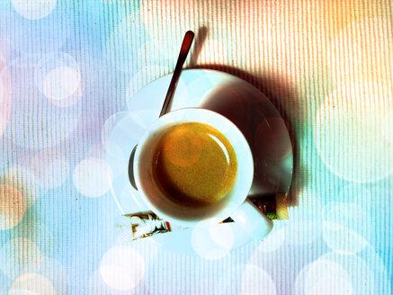 Cup of espresso, Germany, Konstanz - JEDF000046
