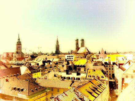 Panorama of Munich, Bavaria, Germany - SRSF000449
