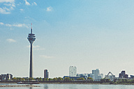 Germany, North Rhine-Westphalia, Duesseldorf, TV tower and Media harbour - MFF000717