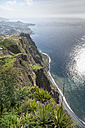 Portugal, Madeira, Cabo Girao, view to Funchal - HLF000356