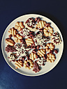 Cookies on a plate, Bonn, North Rhine-Westphalia, Germany - MEAF000009