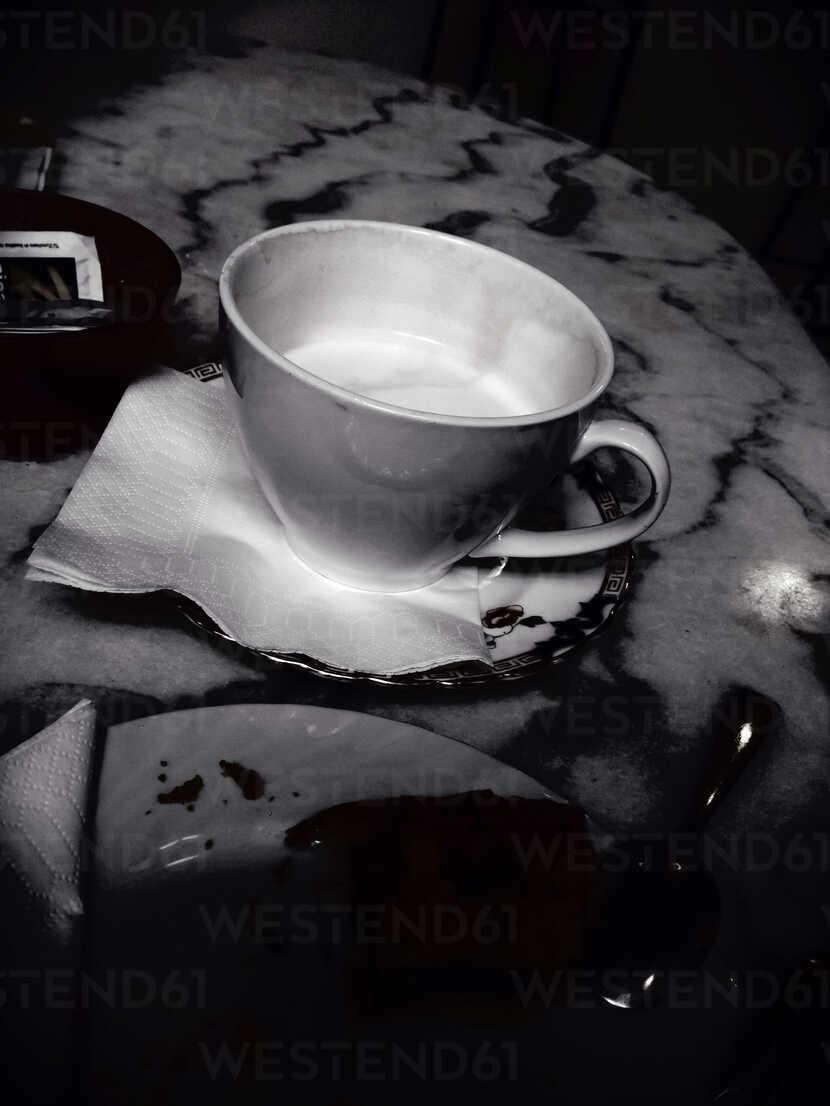 Cup of coffe, noir style, Palermo, Sicily, Italy - MEAF000101 - Ella Albrecht/Westend61