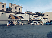 Gas station in Palermo, Sicily, Italy - MEA000077