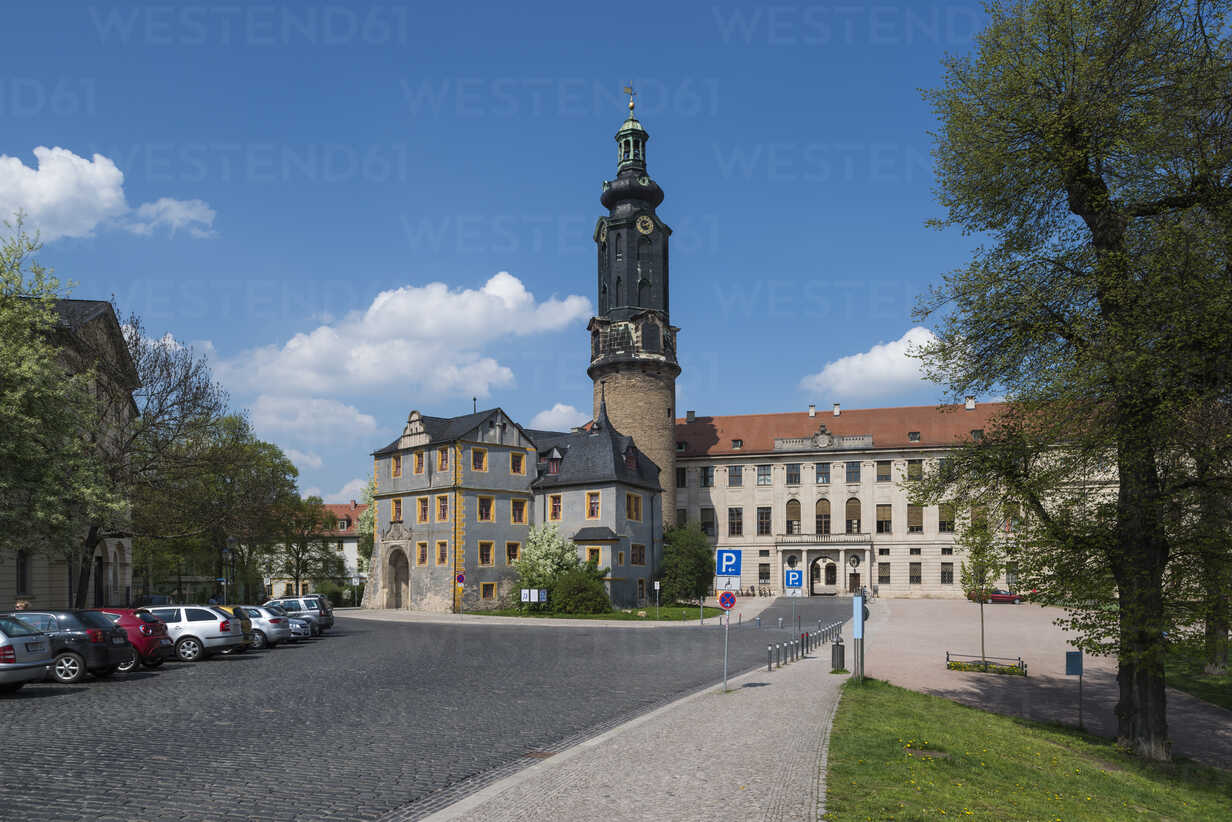 Germany, Thuringia, Weimar, City Castle - HWOF000073 - HWO/Westend61