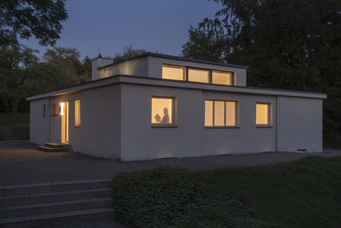 Germany, Thuringia, Weimar, Haus am Horn, Model House by Georg Muche, Bauhaus, Show Home - HWO000092