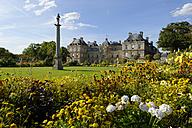 France, Paris, Palais du Luxembourg, Jardin du Luxembourg - LB000499