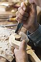 Violin maker at work - TCF003808
