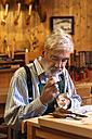 Violin maker at work - TCF003793