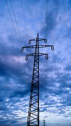 Power pole, Bavaria, Germany - MAEF007606
