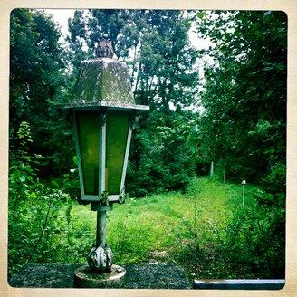 Old lantern, Walchstadt, Munich, Bavaria, Germany - GS000676
