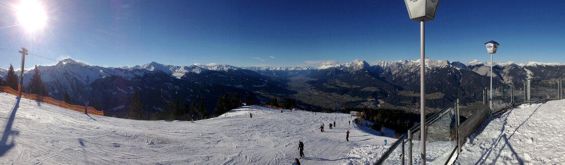 View from Sportgastghof Hecher, 1887 m, Kellerjoch Pillberg, Schwaz, Tyrol, Austria - MAB000197