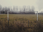 Abandoned football field, Berlin Rummelsburg, Germany - ZMF000093