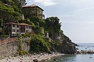 Italy, Cinque Terre,Villas at the lido of Levanto - AM001618