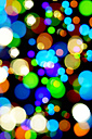 Bokeh, coloured lights, composing - HOHF000357