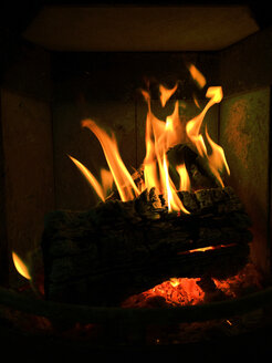 Fireplace, Germany, Baden-Wuerttemberg, Constance - JEDF000072
