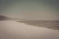 Germany, Mecklenburg-Western Pomerania, Ruegen, Baltic Sea in winter - MJF000658