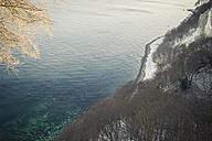Germany, Mecklenburg-Western Pomerania, Ruegen, Jasmund National Park in winter - MJF000707