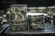 Cans in a printing house - MJ000703