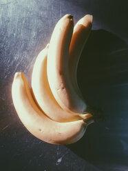 Bananas in sunlight, Bonn, North Rhine-Westphalia, Germany - MFF000789