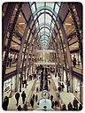 Germany, Hamburg, Shopping Centre Euro passage over the Christmas period - KRP000127