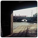 Germany, Hamburg, look under the Lombard bridge - KRP000151