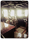 Germany, Hamburg, harbor, looking at Captain's Cabin - KRP000154