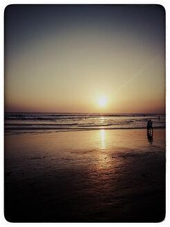 Indonesia, Bali, Sunset at the beach - KRPF000098