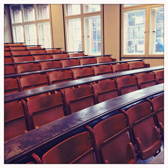 Auditorium at the Albert-Ludwigs-University in Freiburg, Baden-Wuerttemberg, Germany. - DHL000325