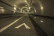Germany, Hamburg, Old Elbe Tunnel, St. Pauli Elbe Tunnel - TI000022