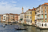 Italy, Venice, Gondola on Canale Grande - FO005801