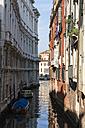 Italy, Veneto, Venice, Boats on canal - FOF005895
