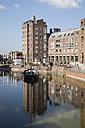 Germany, North Rhine-Westphalia, Duesseldorf, harbour at Rathausufer - WIF000339