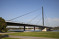 Germany, North Rhine-Westphalia, Duesseldorf, Rhine Knee Bridge - WIF000334