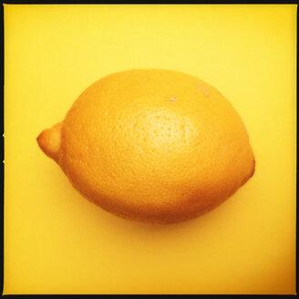 Colorful Food, Lemon on Yellow - MVC000078