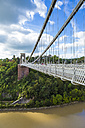 United Kingdom, England, Bristol, Clifton, River Avon, Clifton Suspension Bridge - DISF000455