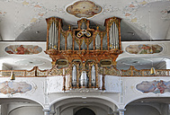 Austria, Vorarlberg, Bregenz, Parish church of St. Gallus, organ - SIE005008