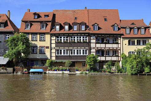 Germany, Bavaria, Bamberg, View of Little Venice on the Regnitz - VTF000086