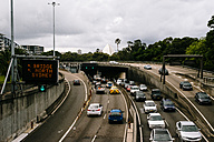 Australia, New South Wales, Sydney, view to highway - FB000202