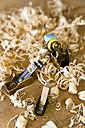 Splints in a workshop of a guitar maker - TC003850
