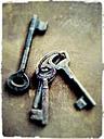 Key chain, rusty - MYF000151