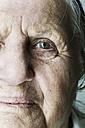 Portrait of senior woman, partial view - JATF000667