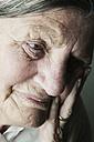 Portrait of senior woman, partial view - JATF000646