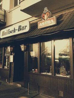 Legendary bar, Haifischbar, in the Great Elbstrasse, Altona, Hamburg, Germany - SE000503