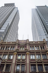 Australia, New South Wales, Sydney, view to skyscrapers and old building in front - FBF000213