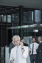 Senior businessman on cell phone - CHAF000072