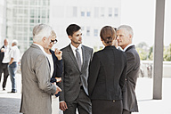 Group of businesspeople discussing - CHAF000055